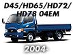 Запчасти Hyundai HD78