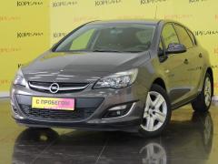 Фото 1 - Opel Astra J Рестайлинг 2012 г.