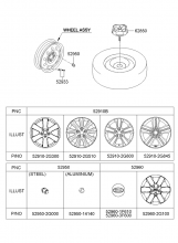Колесо и колпак колеса