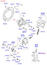 Барабанный тормозной механизм переднего колеса
