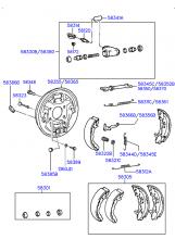 тормозной механизм заднего колеса