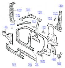 панель кузова боковая