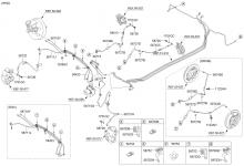 Трубопровод гидропривода тормозов