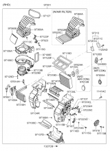 Климатическая установка - отопитель и испаритель