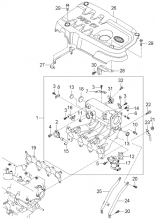 коллектор выпускной двигателя