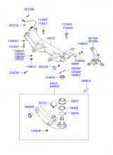 FRONT CROSSMEMBER & LOWER ARM