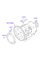 AUTOMATIC TRANSMISSION MOUNTING