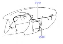 электропроводка панели приборов