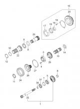 TRANSAXLE GEAR (A/T)