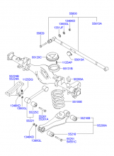 REAR SUSPENSION (COIL SPRING)