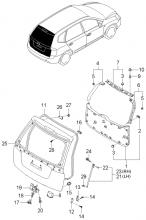 TAILGATE PANEL & LOCKING SYSTEM