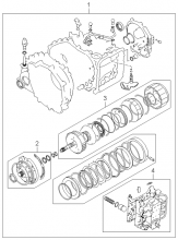 Комплект прокладок для коробки передач