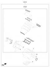 набор прокладок двигателя