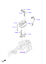 Аккумуляторная батарея и провода