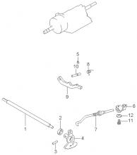 Тяги механического рулевого управления