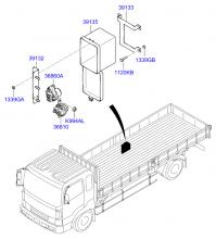 Блок управления двигателем и датчики