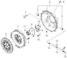 Ведомый диск и механизм сцепления