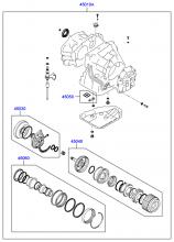 TRANSAXLE GASKET KIT - AUTOMATIC