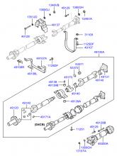 PROPELLER SHAFT (4WD)