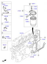 Топливный фильтр и шланг