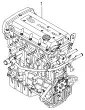 Подрамник двигателя в сборе