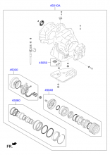 TRANSAXLE GASKET KIT - AUTOMATIC