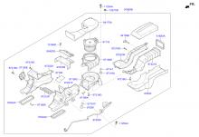 система автоматического кондиционера задняя