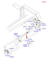 Шланг и трубопровод гидроусилителя рул. управления