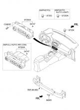Климатическая установка  - управление отопителем