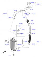 Турбокомпрессор и охладитель воздуха