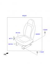 сиденье пассажира переднее