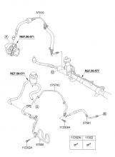 Трубопровод усилителя рулевого управления