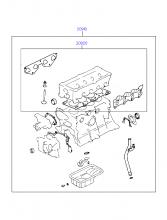 ENGINE GASKET KIT (SOHC)