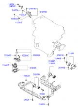 подвеска двигателя