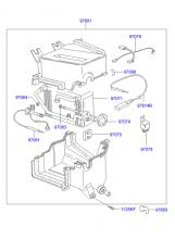 AIR CONDITIONER SYSTEM - EVAPORATOR
