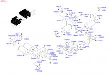 Воздушный баллон и вакуумная камера тормозной системы