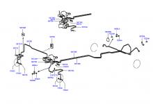 BRAKE FLUID LINES (-ABS)