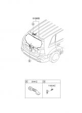 Электропроводка крышки багажного отделения