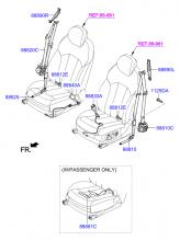 ремень безопасности передних сидений