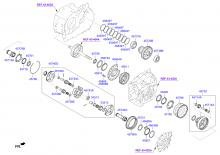TRANSAXLE GEAR - AUTOMATIC