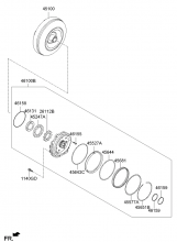 OIL PUMP & TORQUE CONVERTER - AUTOMATIC