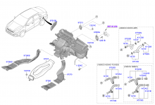 Воздуховоды и шланги системы отопления