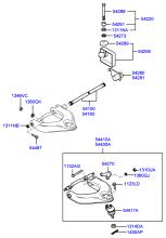 FRONT SUSPENSION UPPER ARM & TORSION BAR
