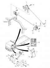 Система откидывания кабины