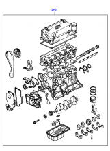 SUB ENGINE ASSY (SOHC)