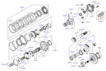 TRANSAXLE GEAR - AUTOMATIC