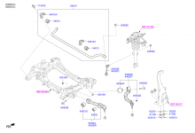 FRONT SUSPENSION CONTROL ARM