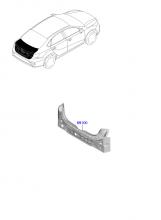 Задняя панель и крышка багажного отделения